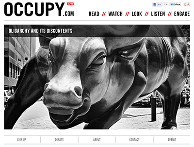 Occupy.com Launches in Time for May Day Protests
